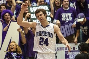 Will the Big Ten Tournament be kind to John Shurna and Northwestern's NCAA Tournament hopes? (Charles Cherney/AP)