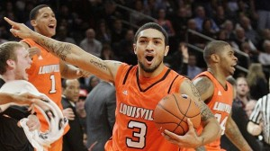 Peyton Siva was Named Big East Tournament MVP (AP Photo/F. Franklin)