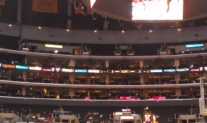 The Staples Center Has Been Largely Empty For the Pac-12 Tournament (Brendon Mulvihill)