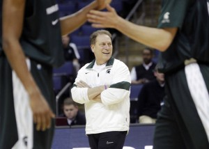 Can Tom Izzo lead Michigan State to another Elite Eight?  (photo: AP)