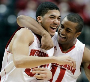 Wisconsin senior Rob Wilson was practically unstoppable on Friday. (AP)