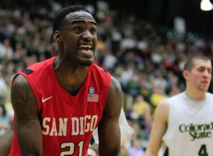 Jamaal Franklin is a Ferocious Competitor on Both Ends for SDSU (US Presswire)