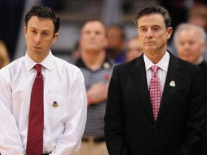 Richard Pitino (Left) Looks to Continue Blossoming His Father's Enormous Coaching Tree (USA Today)