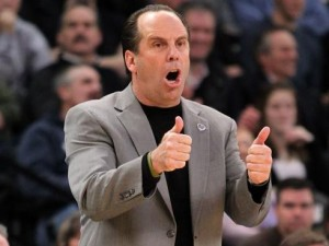 Mike Brey and the Fighting Irish Like Their Chances Against the National Champs Next Year (AP Photo)