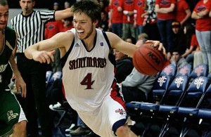 Matthew Dellavedova, the reigning WCC Player of the Year, has qualified for Australia's Olympic roster (St. Mary's Athletics photo)