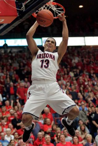 Nick Johnson, Arizona