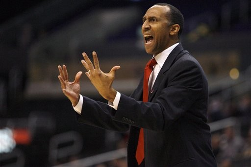 Johnny Dawkins Is On The Hot Seat And He Didn't Do Much To Silence His Critics Last Night (credit: Danny Moloshok)