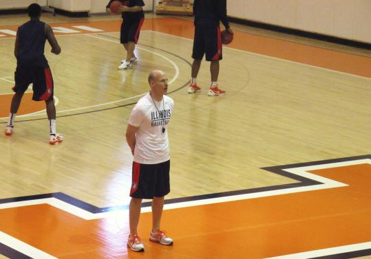 John Groce has had a rough offseason; exactly when he needed a break or two.