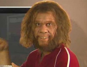 Before Playing Basketball At Stanford, Zimmerman Starred As The Geico Caveman