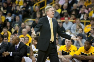 Fran McCaffery's Group Appears to be Buying Into Defense This Year (credit: AP)
