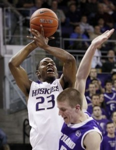 After Losing Their Top Two Guards To The NBA Draft, Wilcox's Ability To Knock Down The Three When Needed Will Be Huge For The Huskies In 2012-13 (credit: AP)