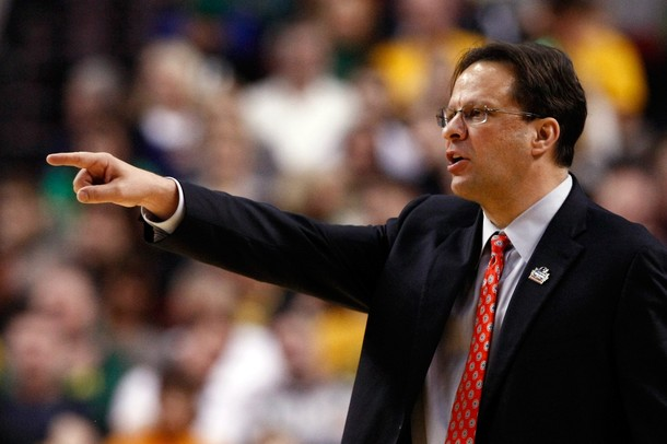 Tom Crean's ranked Indiana team will face three ACC schools in non conference play. (Jonathan Ferrey/Getty Images).