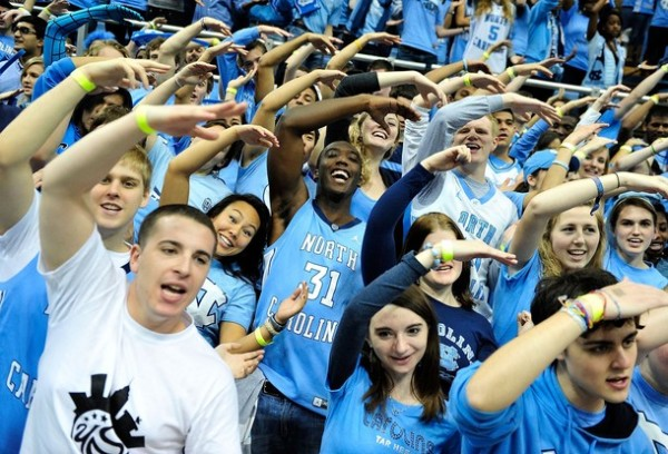 Carolina Fans are Ready For Another March Run (Photo credit: Getty Images).