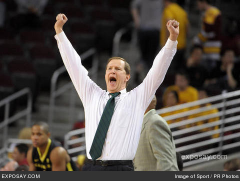 Oregon Head Coach Dana Altman Has Had Plenty To Celebrate So Far This Season