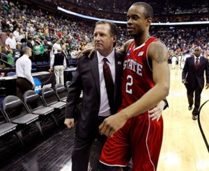With Purvis' eligibility in question, Gottfried is offering comforting words to Wolfpack fans (Photo credit: Rob Carr/Getty Images)