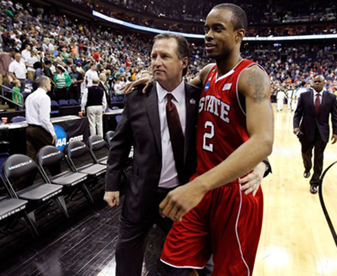 Mark Gottfried and Lorenzo Brown have a team to watch this month.