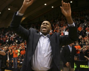 It's Time To Reevaluate Expectations For Craig Robinson, The Head Man In Corvallis For the Last Four Seasons. Robinson Has Led His Team No Higher Than The CBI In His Tenure. (credit: Don Ryan)