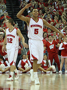 Ryan Evans And The Badgers Will Provide A Stiff Road Test For California (credit: Badger Nation)