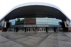 The Thrillerdome reopens as the McCamish Pavilion for a new era of Georgia Tech basketball (Johnny Crawford/Atlanta Journal-Constitution)