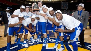 Kentucky was picked to repeat as SEC Champs by the media on Monday.