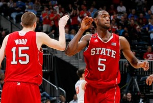 With NBA-bound players like Leslie littering the roster, NC State is primed for a big season, but could get a reality check against Tennessee or Oklahoma State in Puerto Rico. (Photo credit: Kevin C. Cox/Getty Images)