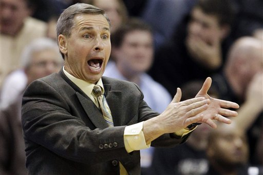 Jeff Bzdelik: How Hot Can the Seat Get in Winston-Salem? (AP Photo/Chuck Burton)