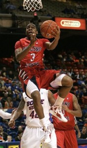 Kevin Olekaibe Leads The Most Talented Fresno State Squad In Recent History (Matt Cilley/AP Photo)