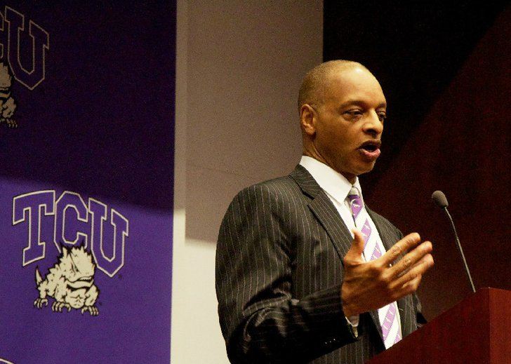 Maybe Trent Johnson Isn't Coaching The Worst Team In The Big 12, After All. (AP)