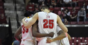 Alex Len nearly led his Maryland team to a big-time upset win over Kentucky on Friday night (Maryland 247 Sports photo)