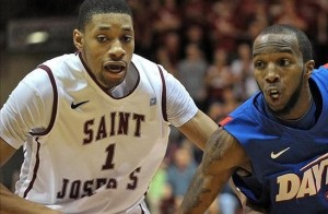 The A-10 title is within reach for St. Joes if Aiken elevates his offensive game (photo credit: US Presswire).