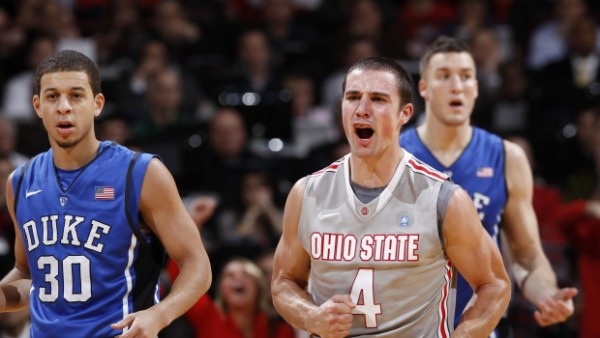 Aaron Craft will need to have a big day defensively if Ohio State wants to steal a road win at Marquette.  (Joe Robbins/Getty Images)