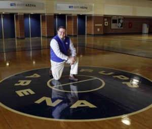 Joe B. Hall surmounted the insurmountable task, succeeding Adolph Rupp and leading the Wildcats in the 1970's and 80's. (Charles Bertram/Lexington Herald-Leader)