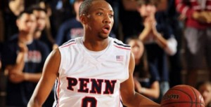 Miles Cartwright and Penn have a big contest against cross-state rival Penn State (AP)