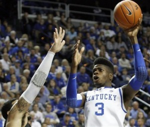 Kentucky's frontcourt was superb against LIU-Brooklyn, but questions about their rebounding linger. (Centre Daily Times)