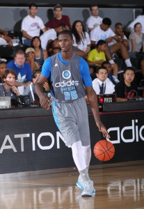 While visiting, 2013 No. 8 prospect Noah Vonleh chose the Indiana Hoosiers on Saturday night