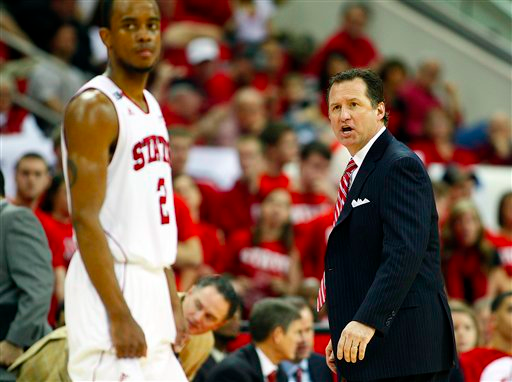 Mark Gottfried may need to change his system for the Wolfpack to be true contenders. (AP Photo/Karl B DeBlaker)