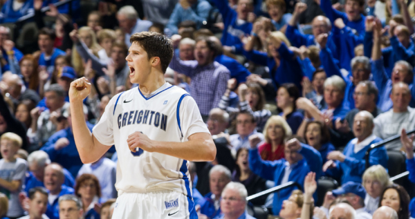 Doug McDermott Isn't the Only Bluejay on His Team (ALYSSA SCHUKAR/THE WORLD-HERALD)