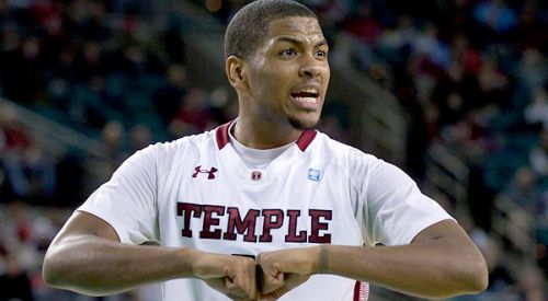 Temple's One-Two Punch of Khalif Wyatt (above) and Scootie Randall Went Cold Against Duke. (AP)