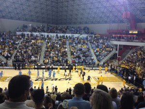 With North Carolina In Town, Long Beach State Set a New Attendance Record In The Pyramid