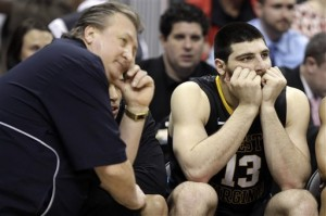 Bob Huggins and Deniz Kilicli Aren't Happy Campers