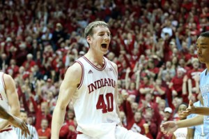 Cody Zeller and Indiana will have Assembly Hall rocking this Saturday night against Michigan (Photo: Andy Lyons)