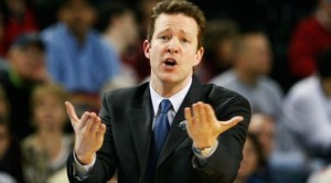 Chris Mooney's squad was rolled in Jayhawk land (AP)