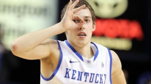 A sharp Kyle Wiltjer from the outside would greatly increase Kentucky's bid to repeat as SEC champs (AP)