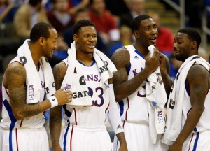 The Buffaloes were no match for Kansas at Allen Fieldhouse (Photo credit: Getty Images).
