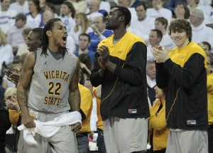 Carl Hall (22) has given Shocker fans plenty to be excited about.
