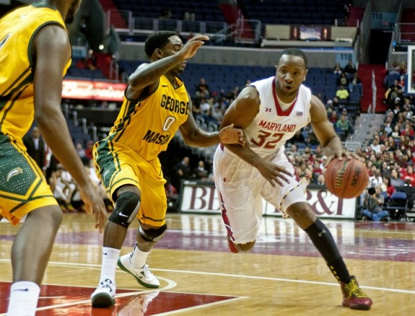 Dez Wells is one of the few familiar faces in College Park this year. (Charlie DeBoyace/The Diamondback)