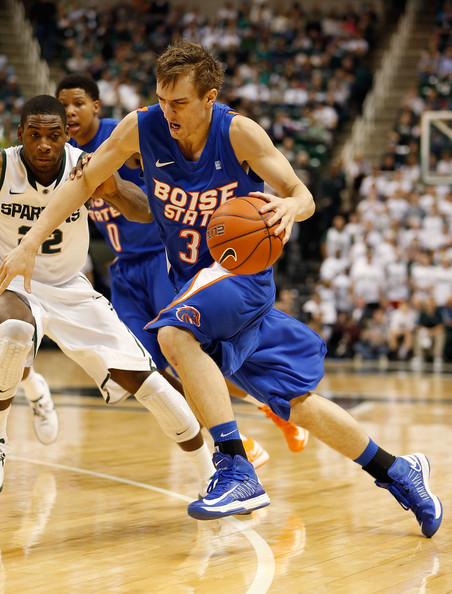 Anthony Drmic Had A Career Night In Leading Boise State Over LSU (Gregory Shamus, Getty Images)