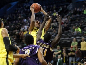 Emory Has Been The Surprise Of 7-1 Oregon's Season So Far, Averaging 11.3 PPG and 4.8 RPG