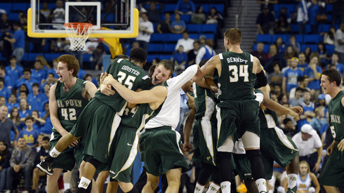 Cal Poly is dancing for the first time ever. (Richard Mackson-US Presswire)
