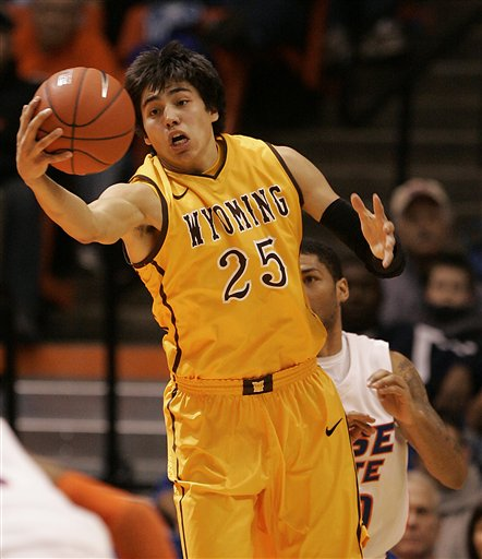 Luke Martinez's Broken Hands Leaves Wyoming Without An Important Cog (AP Photo/Matt Cilley)